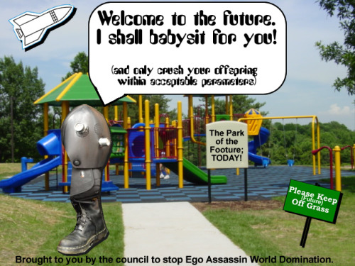 Beware Ego Assassin… the future they predict is too good to be true