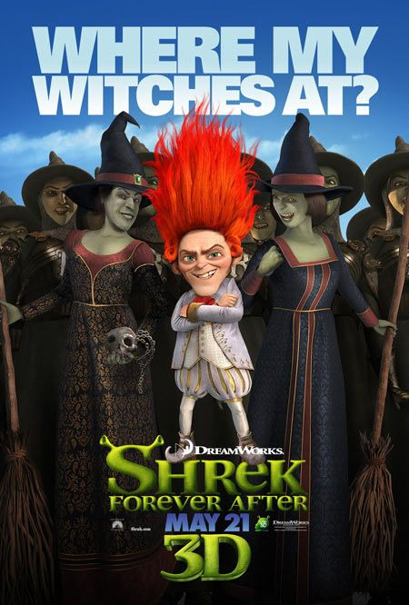 Why is no one decrying the racist and antisemetic motif in Shrek?