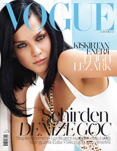 Cover star: Leigh Lezark Magazine: Vogue Turkey Issue: June 2010 Photographer: Nihat Odabasi