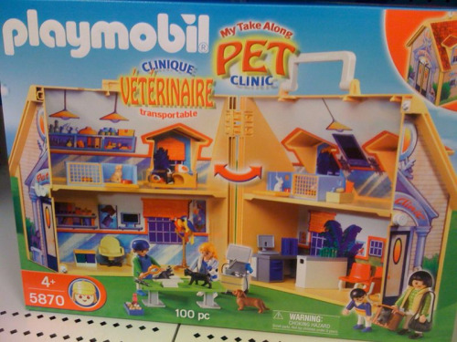 Once classy Playmobil has succumbed to Hobo.
