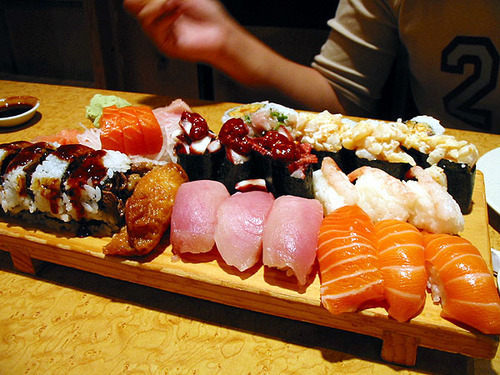 Sushi is such an interesting and fun dish!