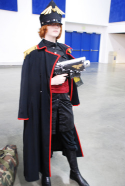 Fanime 2010 -  Warhammer 40k girl, Hell Yes! *Blurry, dammimt