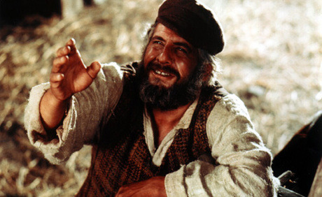 Trivia: Fiddler on the Roof Topol was only in his  mid-thirties when he performed the role of an older Tevye.