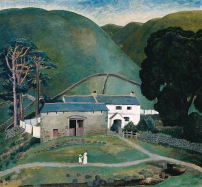 painting by Dora Carrington. via www.tate.org.uk