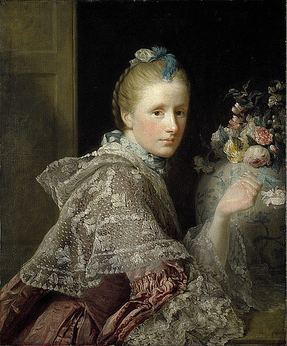 darksilenceinsuburbia:Margaret Landsay of Evelick (1758-60) by Allan Ramsay (source)