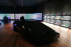 absolutely love this look United Nude opened a new store located on the chic Noho Street in New York across Herzog & de Meuron's 40 Bond residential building. via coolboom