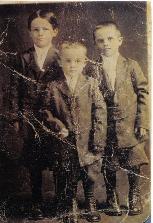 Gino, Frank and Chris - my grandfather (left) and his brothers. Three of a set of four boys who when their father remarried, piled into a car and drove from Mississippi to San Francisco, where they remained. T-R-O-U-B-L-E in all caps and generally whispered about in polite company. Three of the four married women named Mary. Three of the four fought in WWII. Three of the four did very well for themselves and left a legacy behind. I loved these men for the rawness of who they were and that they never put on airs. They were joyful and cantankerous. At least one of them grew pot on their roofs, and strolled the steets of San Francisco smoking a fat joint. One also made beer and 'torpedo juice' out of fermented pineapple that had to be opened into a bucket. They were sinners not saints. They could talk you and drink you under the table any day of the week and twice [after Confession and doughnuts] on Sunday. I wish you'd all gotten to know them.
