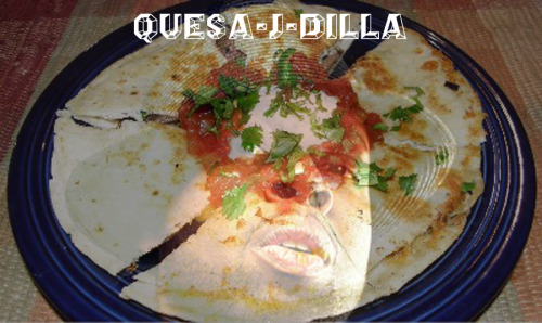 "nastymillionaire:  ANOTHER MATH LESSON FOR Y'ALL!!! Quesadilla + J.Dilla = Quesa-J-Dilla  HERE IS DILLA DOING THE 80s classic gem ""Safety Dance"" «< MP3… it is amazing."