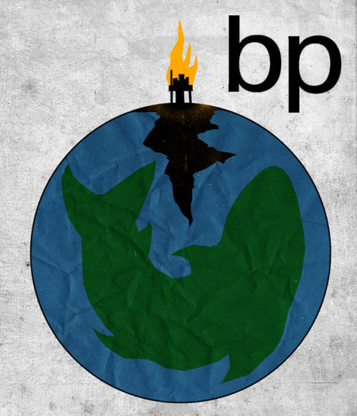 THE NEW BP LOGO by PATRICK STEPHENSON