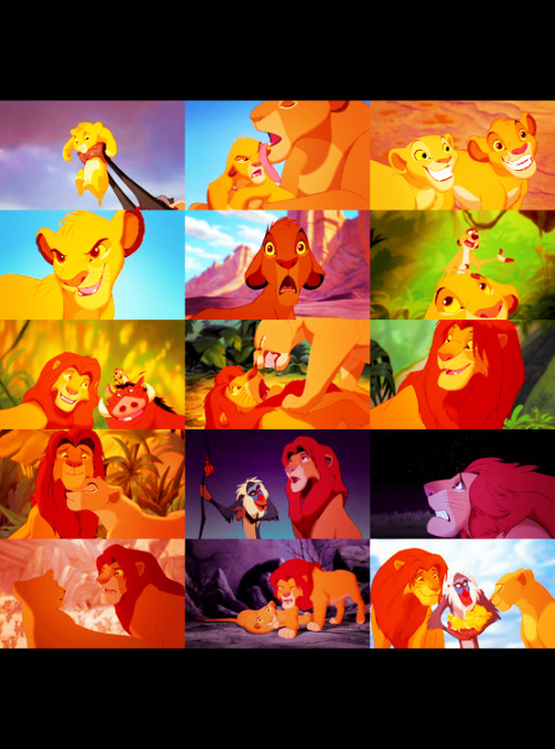 Mufasa: A king's time as ruler rises and falls like the sun. One day, Simba, the sun will set on my time here, and will rise with you as the new king.  Lion King (1994) Day 05 — Your favorite hero.