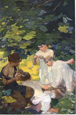 100 Years of Illustration : Frank Brangwyn 1867-1956