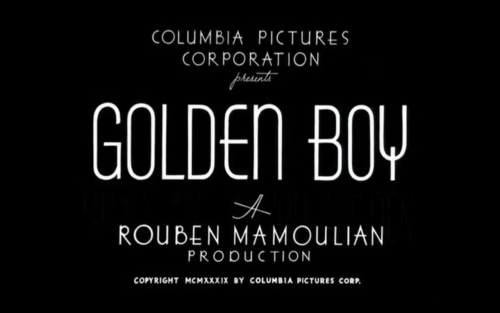 Golden Boy (1939) Golden Boy is a drama film about a talented violinist named Joe Bonaparte (William Holden) who wants to become a boxer. Lorna Moon (Barbara Stanwyck) is his love interest. At first, William Holden wasn't considered for the role, but Barbara Stanwyck convinced producers otherwise. Later on, Holden publicly thanked Stanwyck for saving his career. Watch on YouTube Links: IMDb | Wikipedia