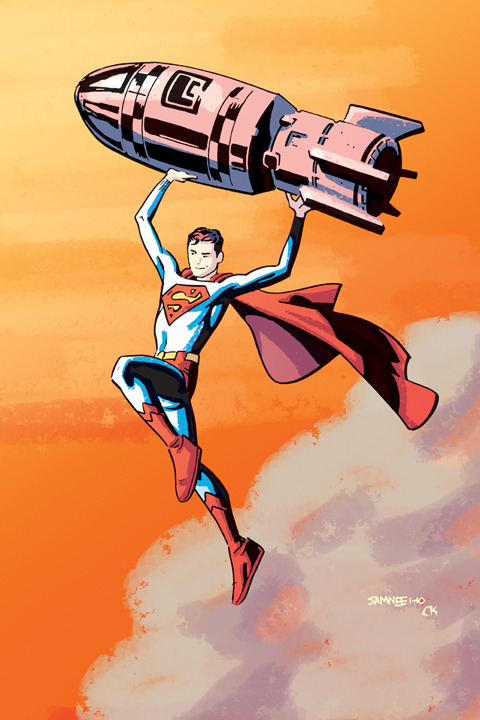 Superboy by Chris Samnee and Charlie Kirchoff