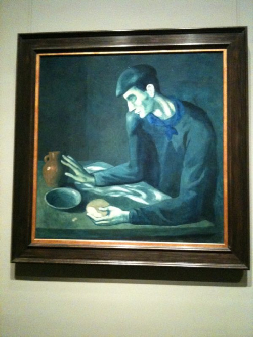 Blue Period: Brought to you by Picasso. And me, because I saw the exhibit at the Metropolitan today.