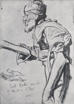 ILLUSTRATION ART: FRANK BRANGWYN'S STUDIES