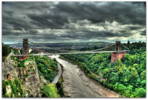 allthingseurope:  The Clifton Suspension Bridge in Bristol England via