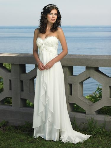 Destinations by Mon Cheri Wedding Dress 18107