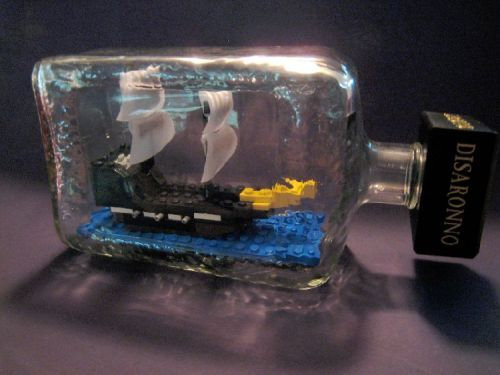 Ship-in-a-bottle: A LEGO creation by Jeremy Moody