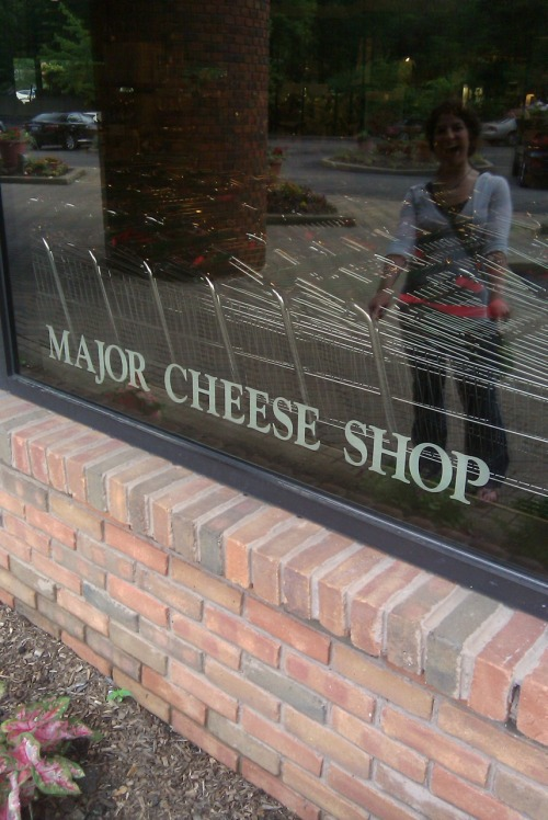 Today for lunch with Amy: MAJOR CHEESE SHOP!