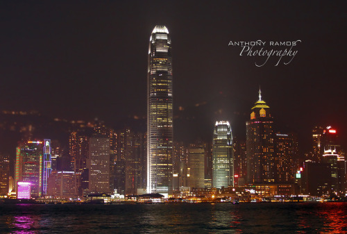 35/365. Home Sweet Home. A view of Hong Kong Island from the Kowloon Peninsula. If there is one place that I wish I could be right now, it would be back in Hong Kong. Camera Info: Canon 50D | 16-35mm L USM | Ƒ/8 | ISO 3200 | 1/25s  © Copyright Anthony R. Ramos, 2010. All rights reserved. Unauthorized use of pictures or text within this page is punishable by law.