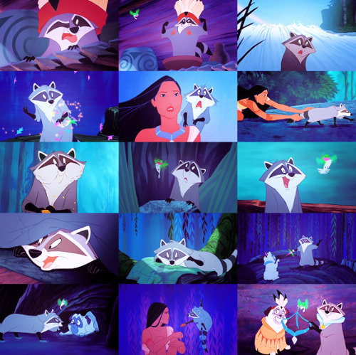 Pocahontas (1995) Day 06 — Favorite animal.
