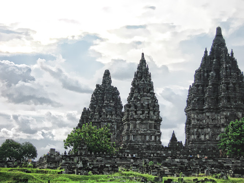 Prambanan Temple The temple is a UNESCO World Heritage Site, currently is the largest Hindu temple in Indonesia, and is one of the largest Hindu temples in south-east Asia. It is characterised by its tall and pointed architecture, typical of Hindu temple architecture, and by the towering 47m high central building inside a large complex of individual temples Submitted by dancingblueberry. Want Submit to Indonesia Click Here
