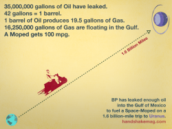 thedailywhat:  Infographic of the Day: Oil spilled thus far into the Gulf of Mexico could potentially power a space-moped to Uranus. Discuss. [thanks charles!]