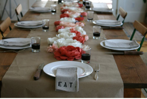 I forgot about this. Jes, socal bridal shower decore.