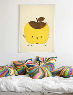 Apple Papple poster by Fine Little Day.