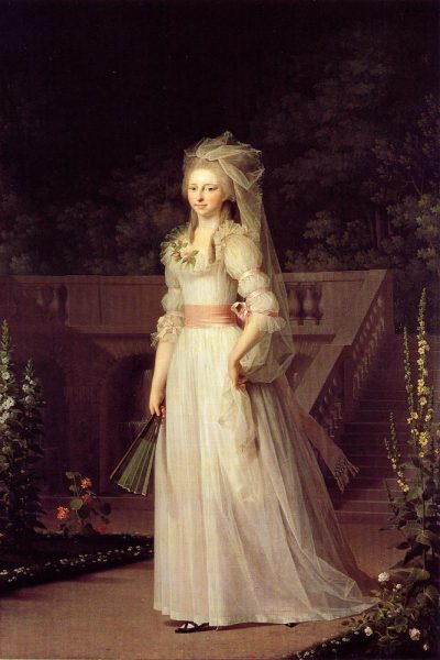 Princess Louise Augusta by Jens Juel, 1787 (Hope Faye doesn't kill me :D It's too amazing so I just couldn't help it!)