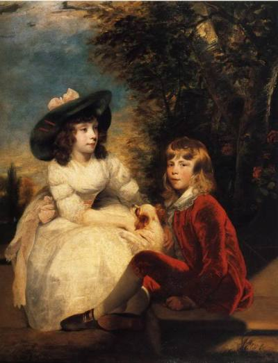 Angerstein children by Reynolds, 1783