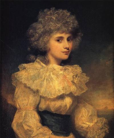 Bitch Lady Bess Foster by Reynolds, 1788