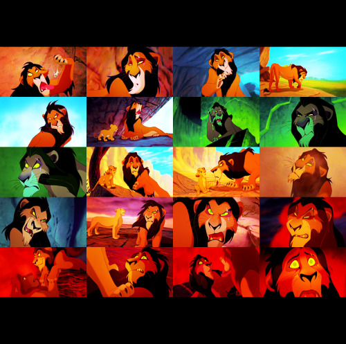 The Lion King (1994) Day 08 — Your favorite villain.