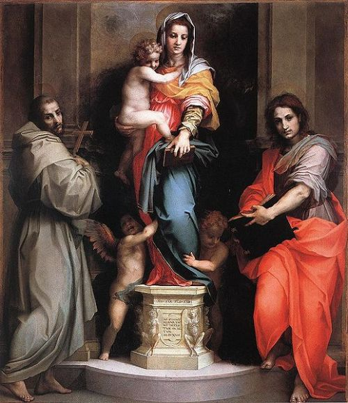 Andrea del Sarto - Madonna of the Harpies