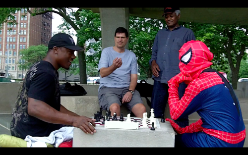 worldwarmike:  Checkmate! Watch PSQL & I on our spiderman adventure video!