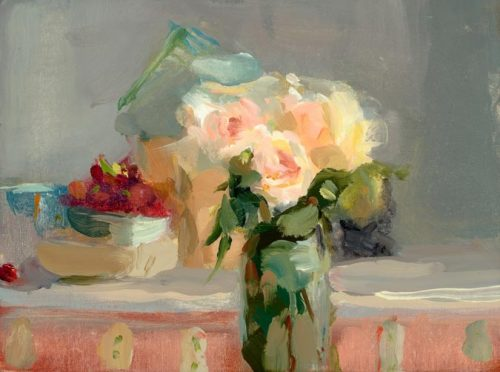 Christine Lafuente Roses and Grapes 2008
