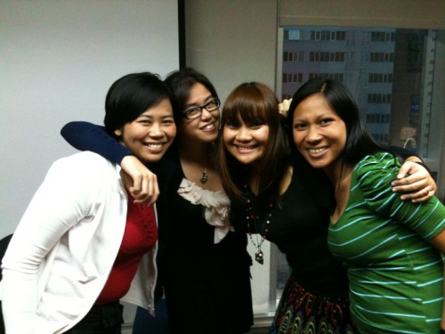 Val's last day in British Council. We'll be seeing you soon! We will surely miss you!