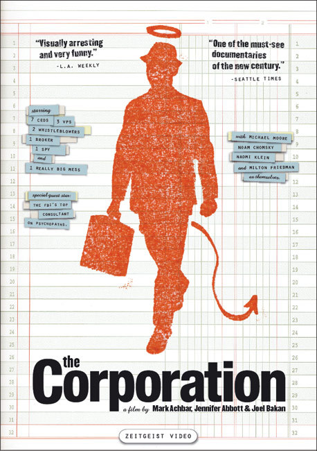 day 22 - favorite documentary The Corporation