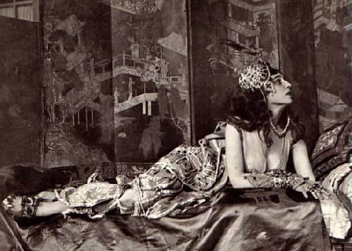 Ida Rubinstein in Scheherazade,1910 via xoomer.virgilio.it