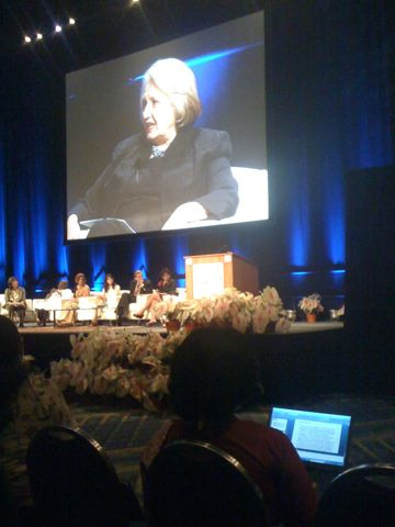 Melanne Verveer, US Ambassador-at-Large for Global Women's Issues at the Women Deliver conference.