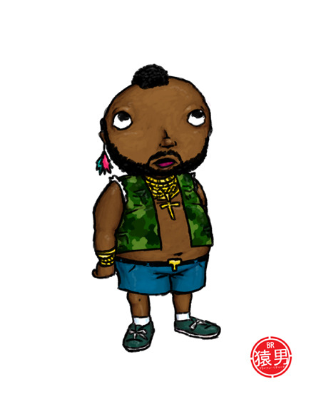 """I Pity The Fool!"" (FatKid     / Duh series)  ©2010 Brian Richard /  Fat Kid Has A Posse"