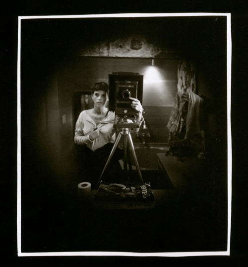 liquidnight:Sally Mann  Self-portrait, 1974 From Still Time