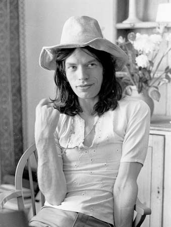 MICK JAGGER (Londres, 1970) (Via thegirlskeepcomingtothecanyon)