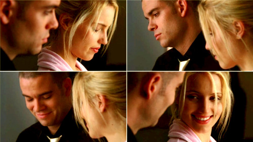 puckyou:  Quinn: Did you love me?Puck: Yes. Especially now. - Journey