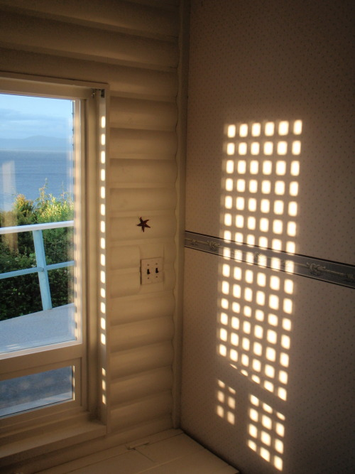 Window seat by the sea.