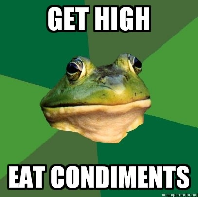 For all questions in life, one must only turn to foul bachelor frog.