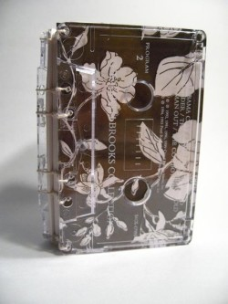 Another Bibliopegy cassette book via Etsy! I think this one is my favorite.