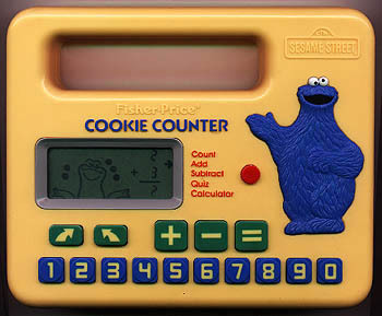 Cookie Monster Cookie Counter (Remembered by bananafish)