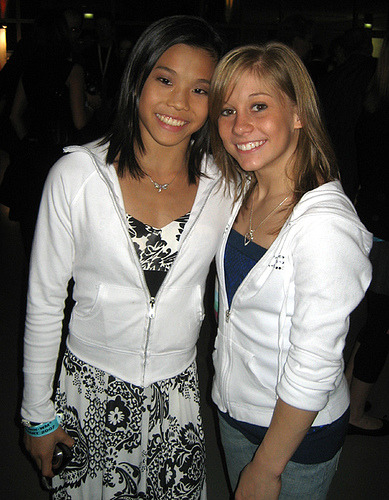 with Ivana Hong at the 2007 World Championships after party