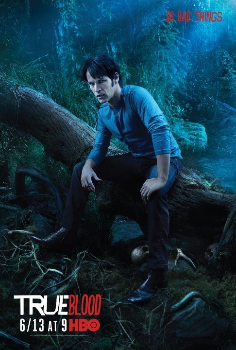 True Blood Season 3 Character Poster: Bill